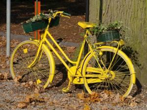 Fahrrad gelb