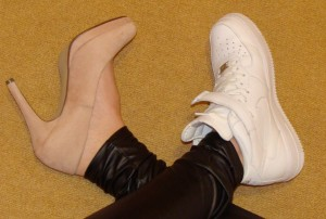 Schuhe zwei