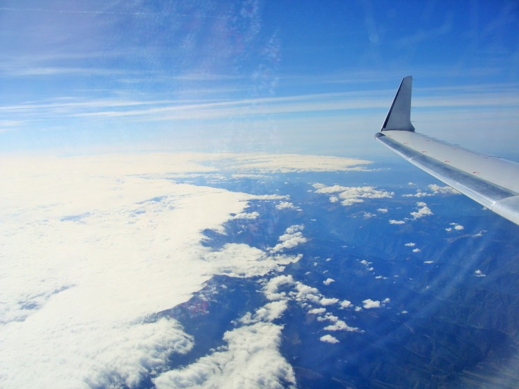 Flug Wolken