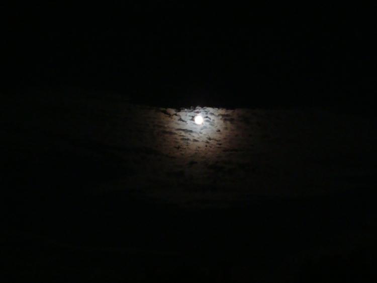 Vollmond nachts