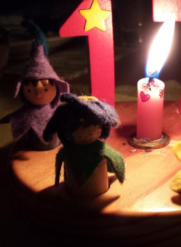 Kerze Geburtstag