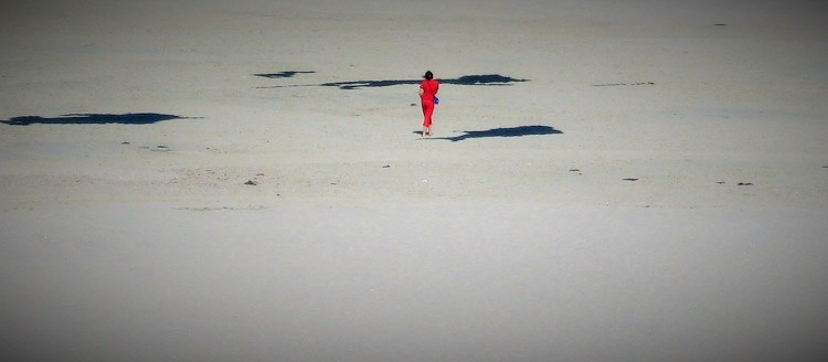 Sand Frau