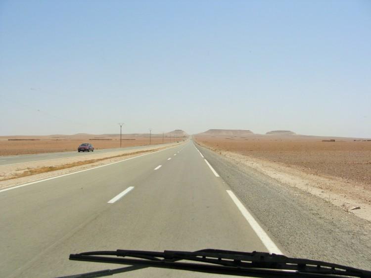 Straße Marokko