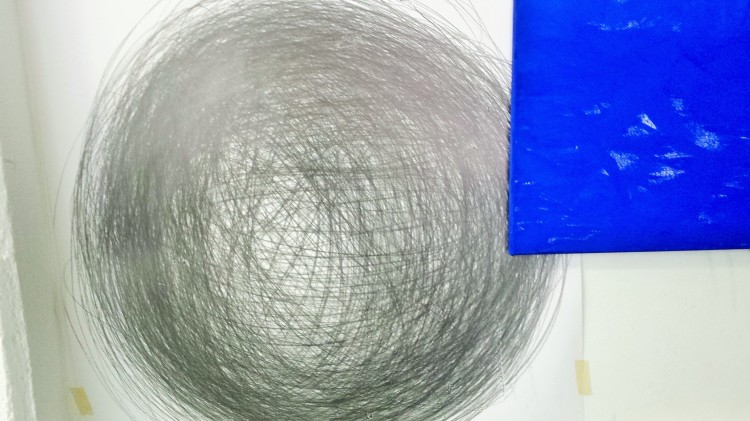 Kreis gemalt