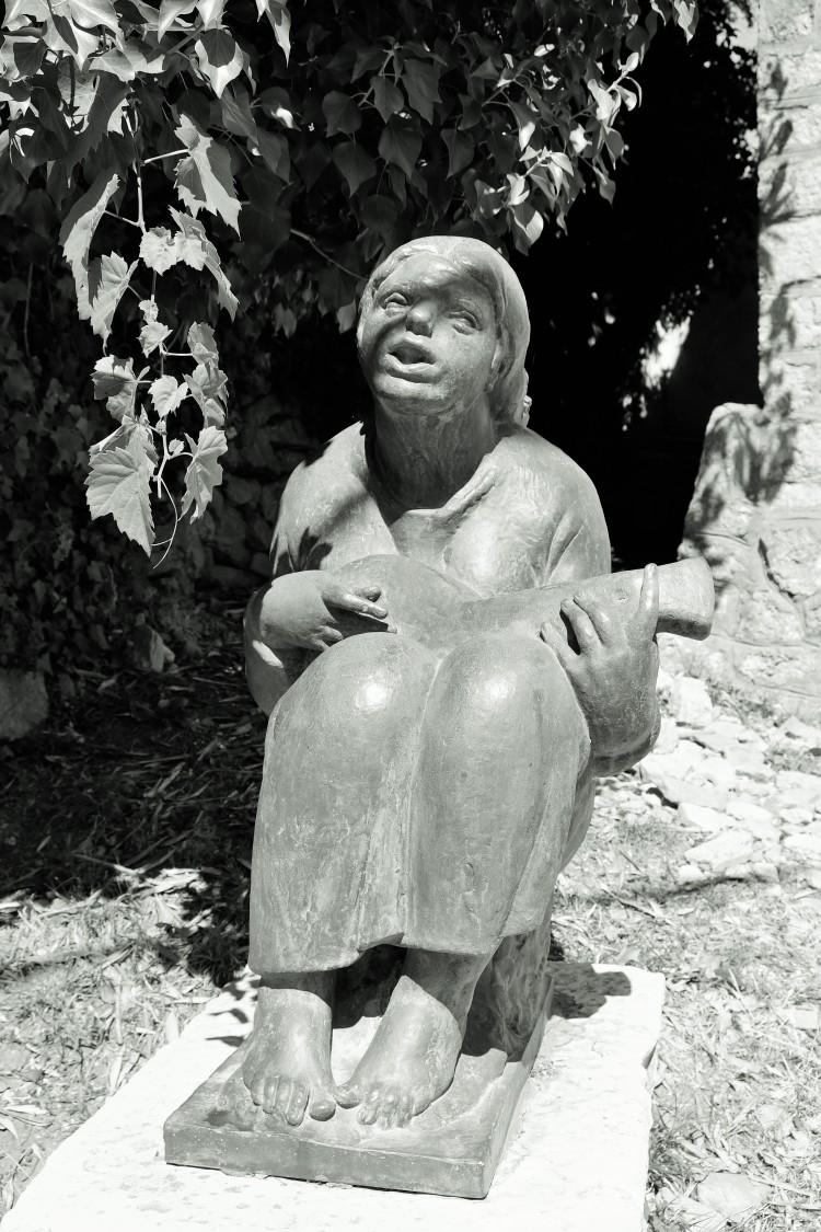 Skulptur Osor