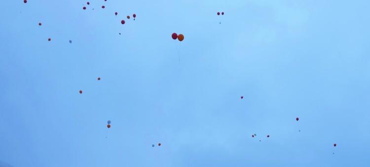 Ballons Himmel