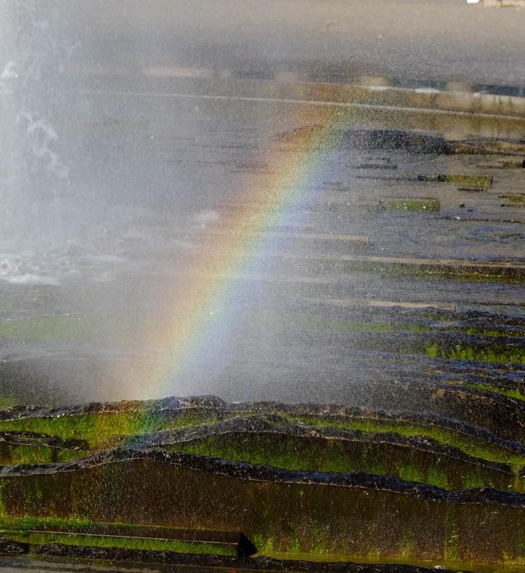 Regenbogenstrahl