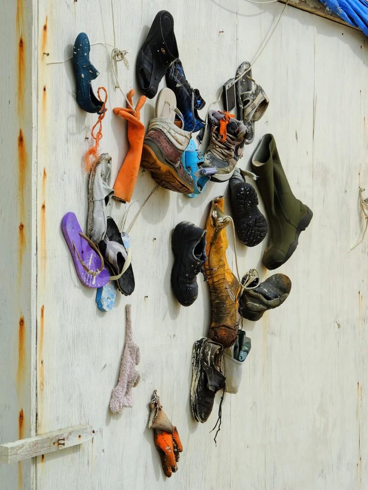 Schuhe Strandhaus