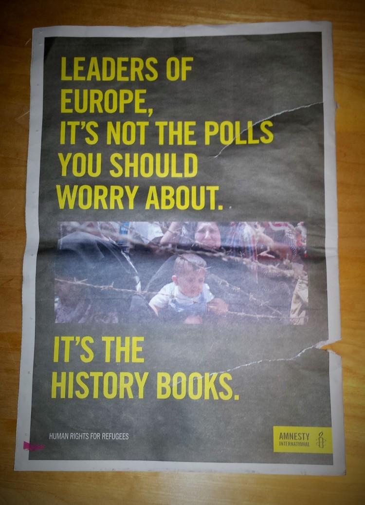 Zeitung Werbung