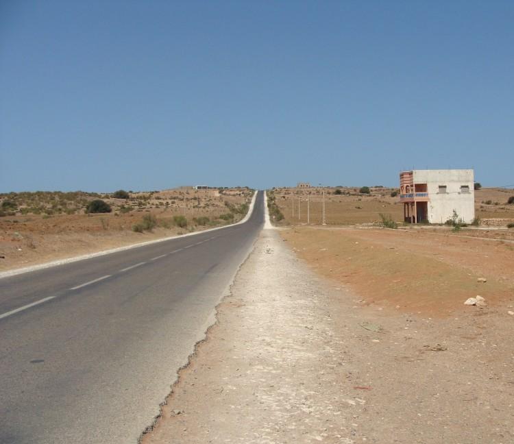 Straße Maroc