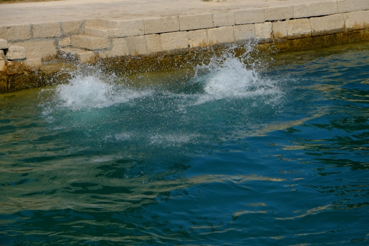 Wasser Sprung