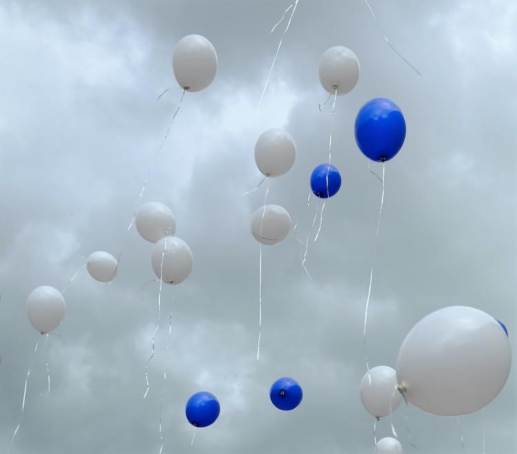 Luftballons Himmel