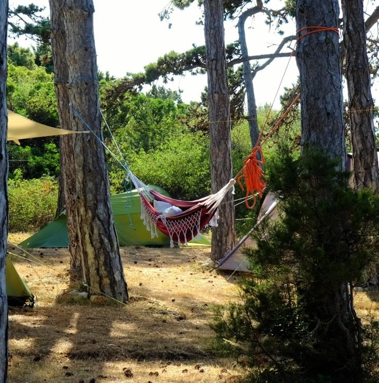 Hängematte Camp