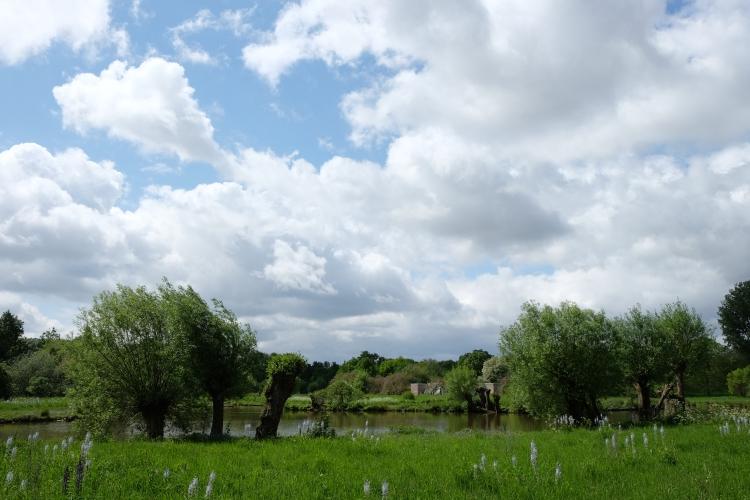 Landschaft Wolken