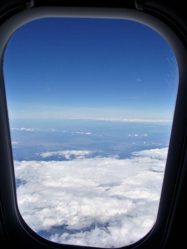 Fenster Flugzeug