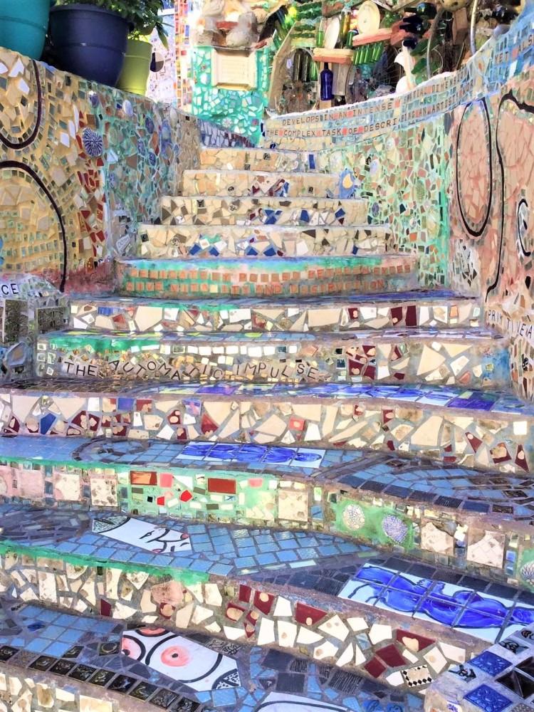 Magic Garden Treppe
