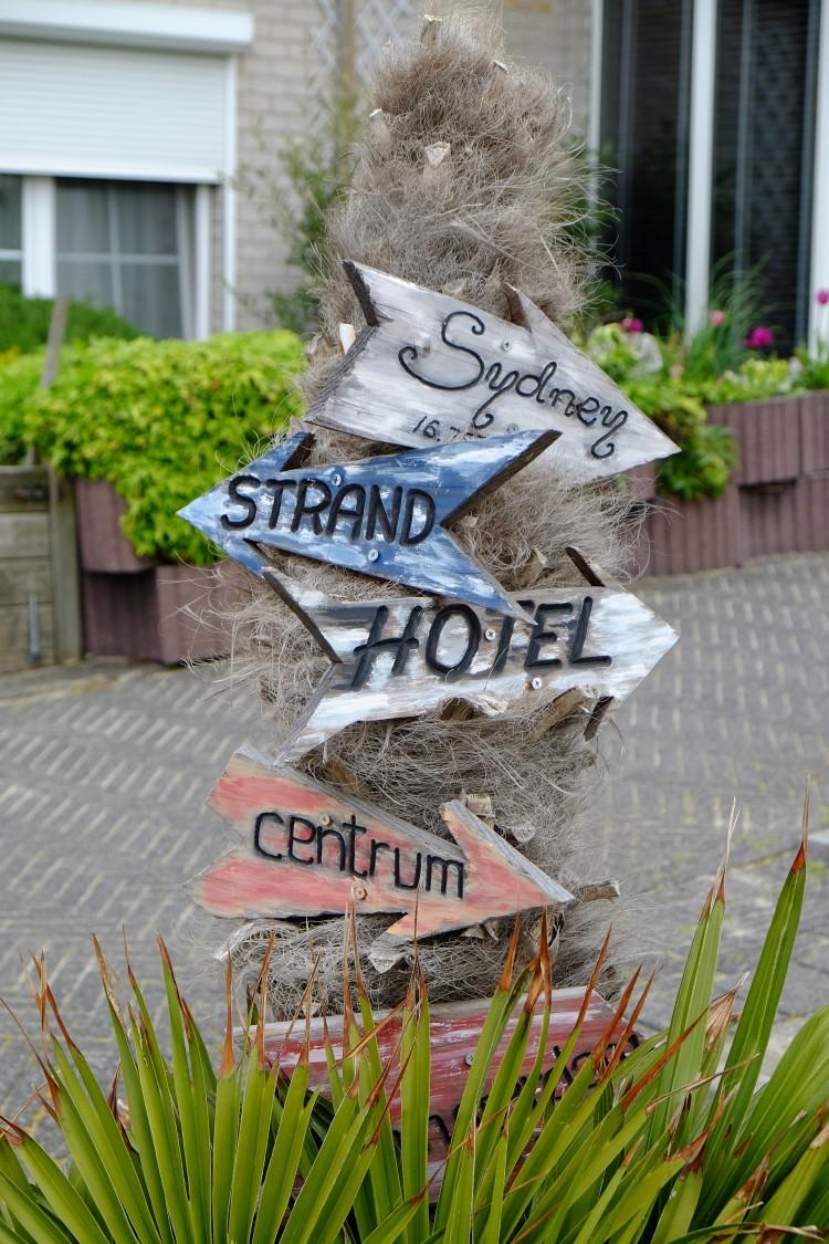 Schild Strand