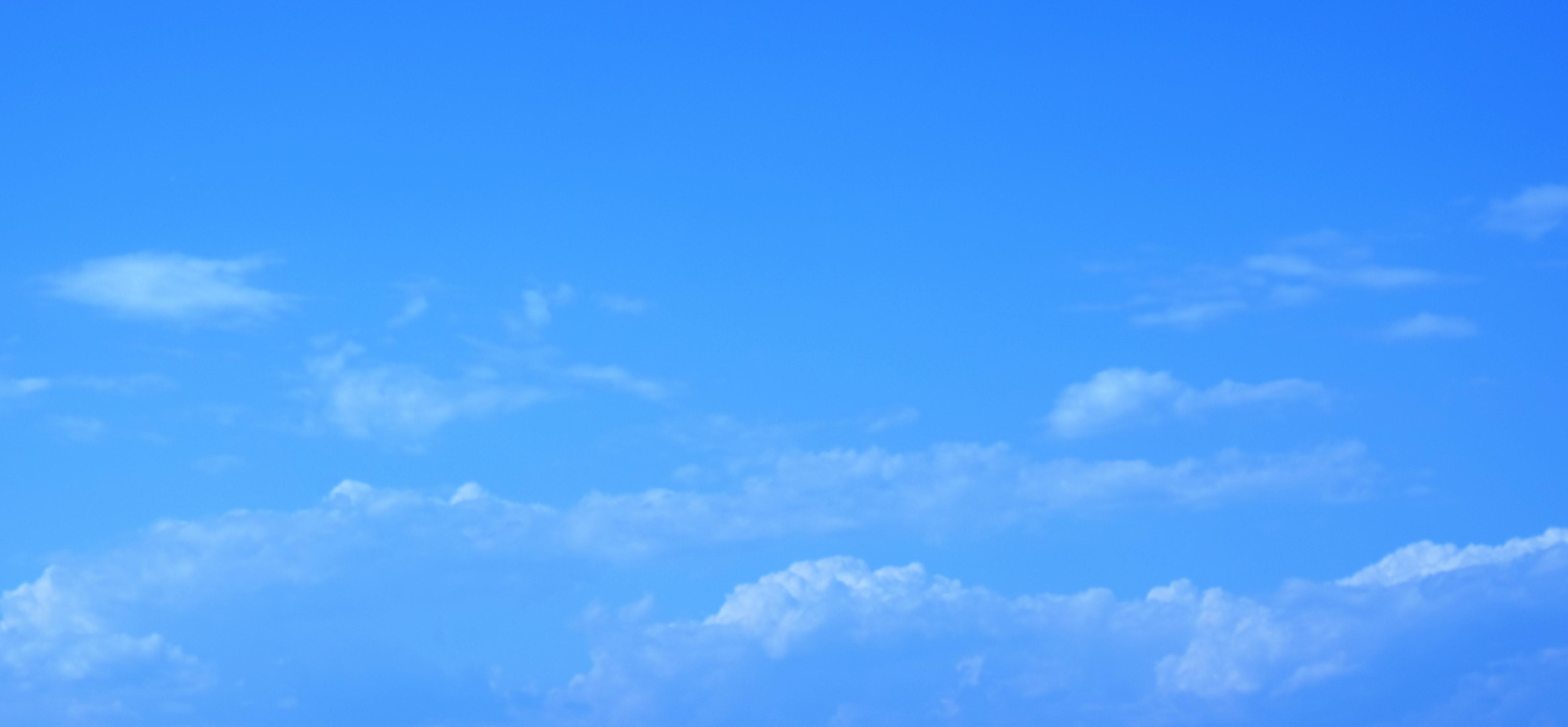 Himmel blau Wolken