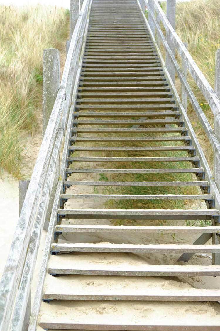Treppe Dünen