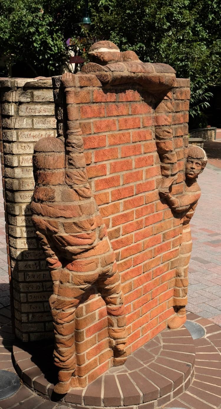 Mauer Figuren