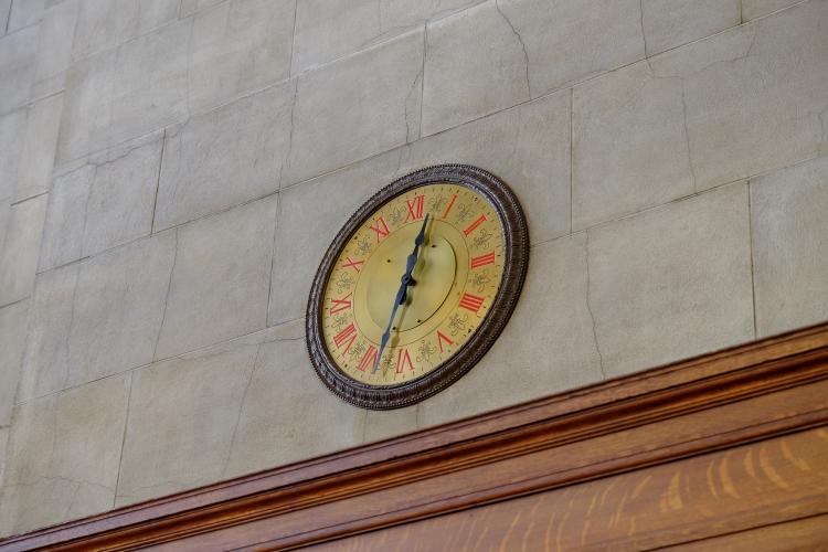 Uhr Bahnhof NY