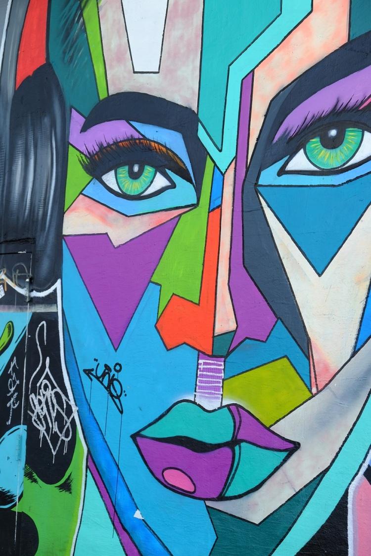 Graffiti Gesicht W