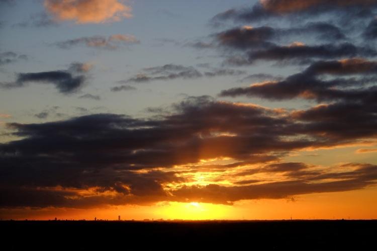 Sonnenuntergang DB