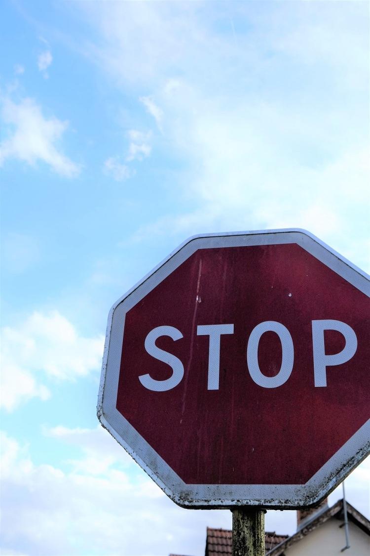 Stopp Schild