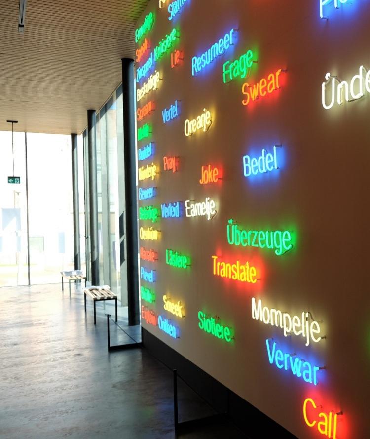 Ausstellung Sprachen