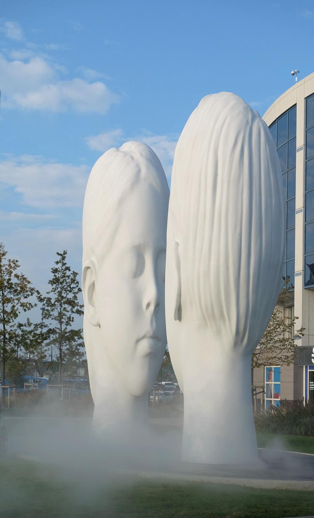 Skulptur Love