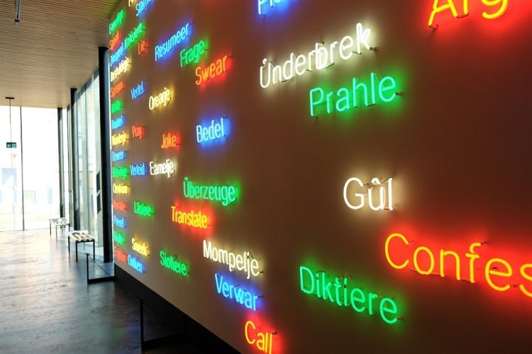 Sprache Wand