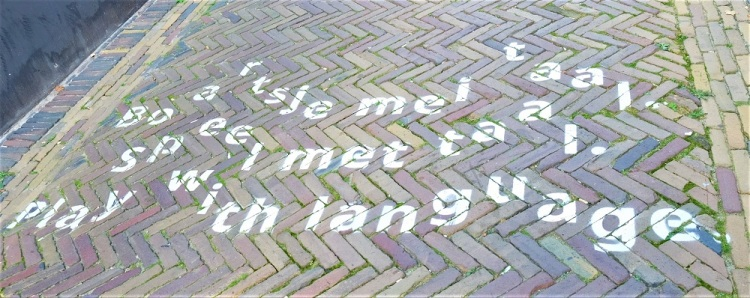 Sprache Straße
