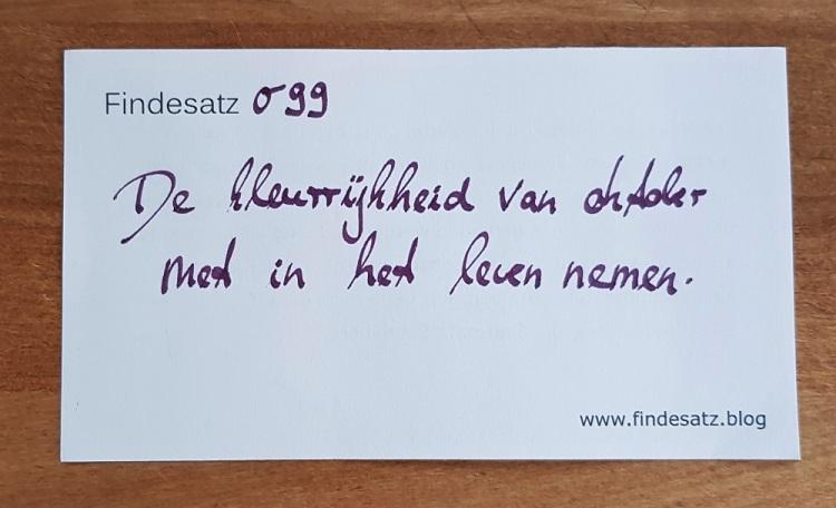 099 Satz