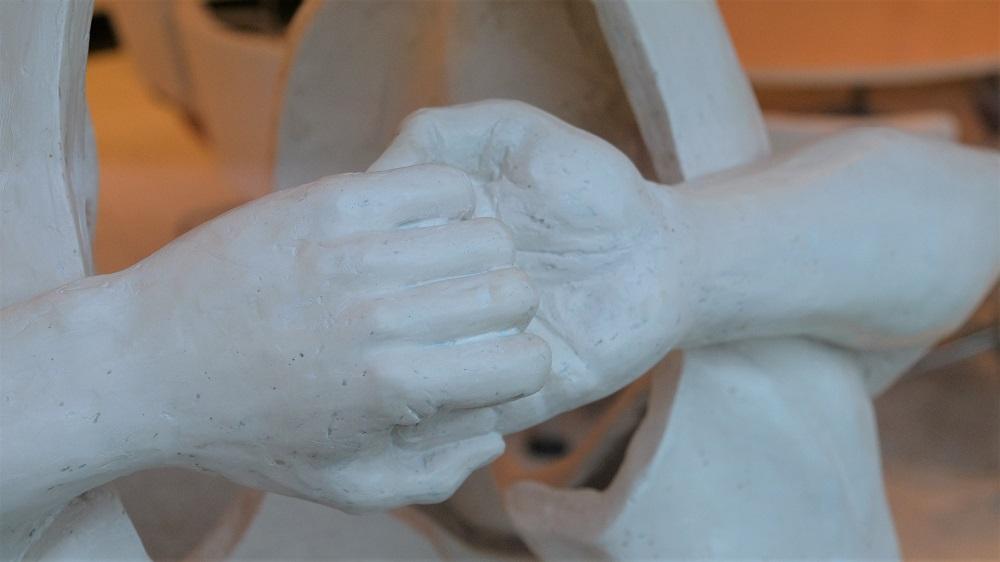 Hände Skulptur