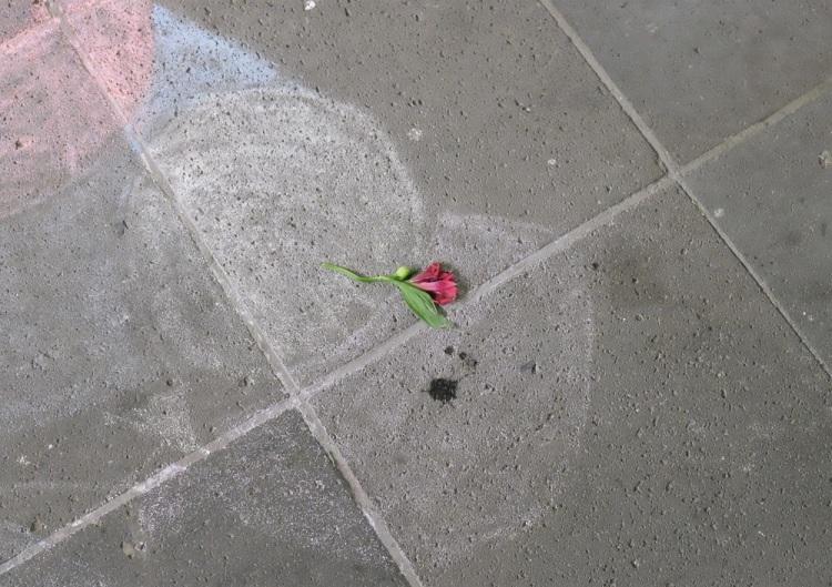 Kreide u Blume Straße