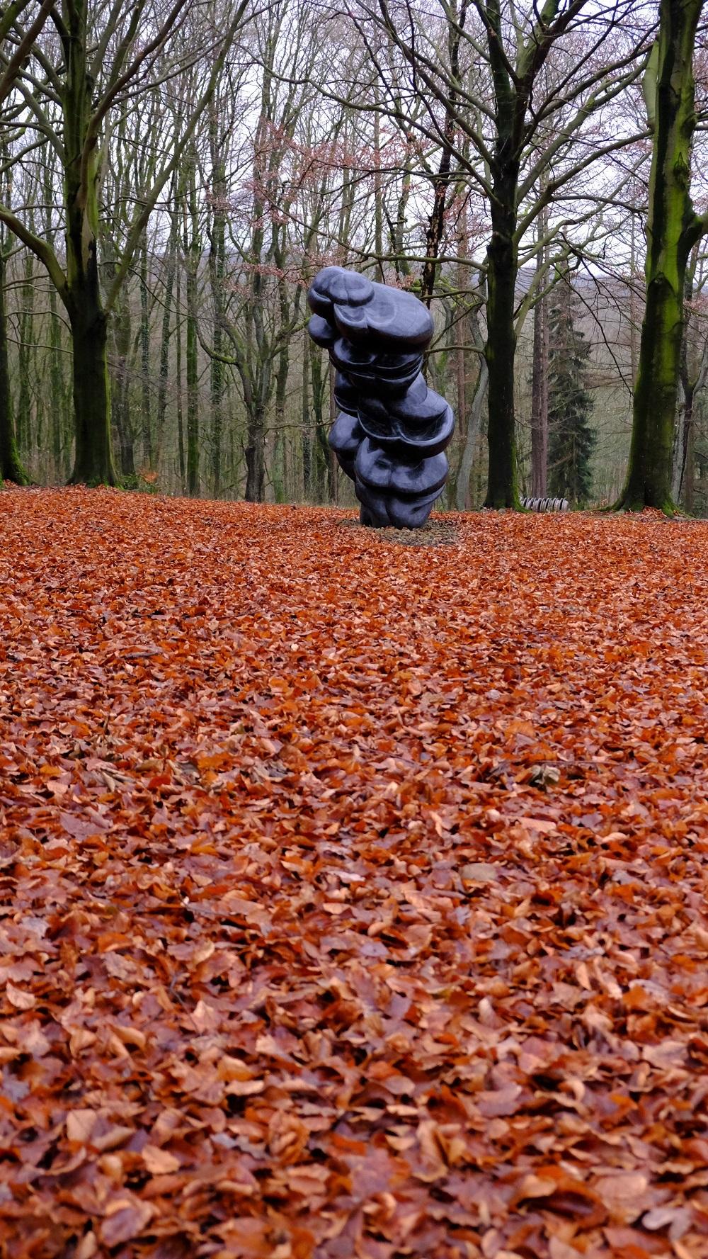 Blätter Skulptur