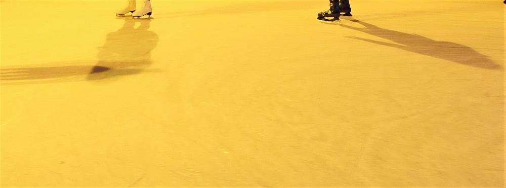 Eislaufen Schatten