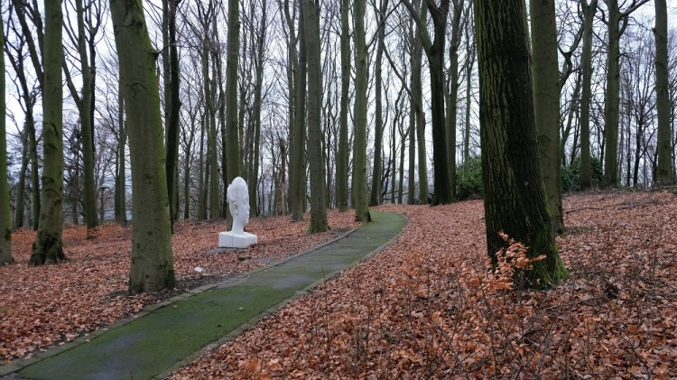 Skuptur Waldfrieden