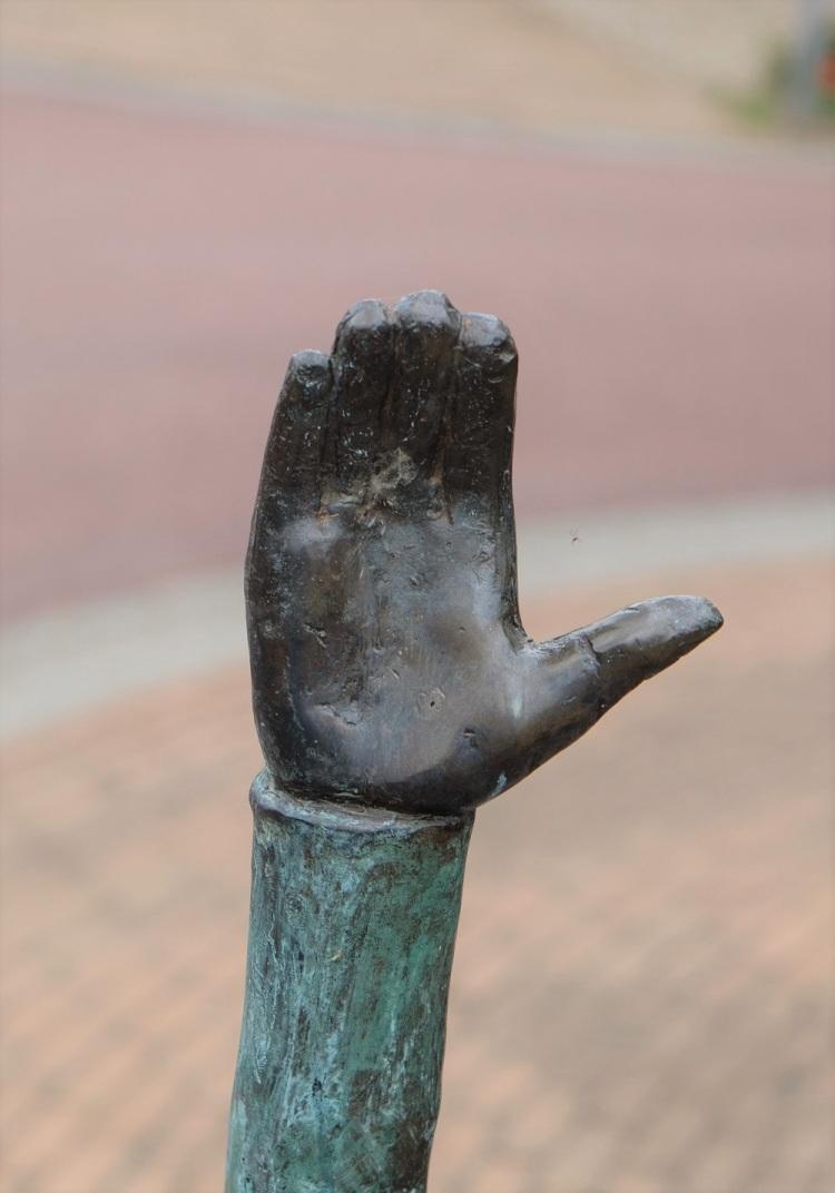 Hand Skulptur