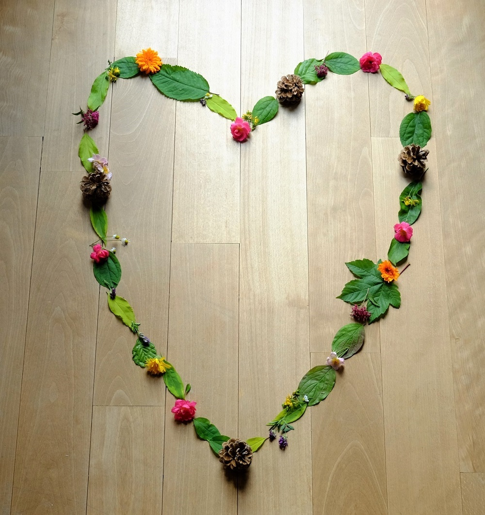 Herz Blüten
