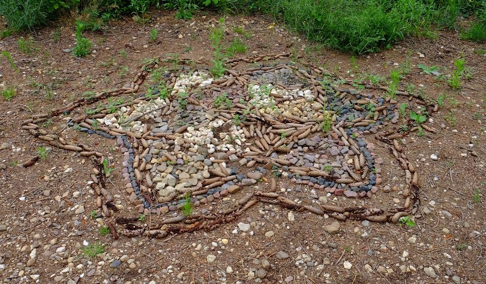 Mosaik Waldboden